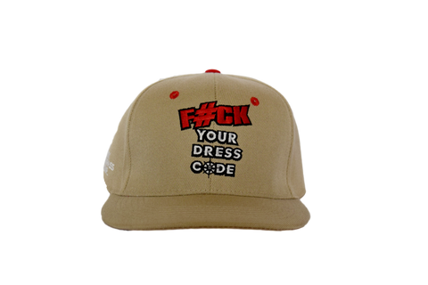 """F"" Your Dress Code Strapback"