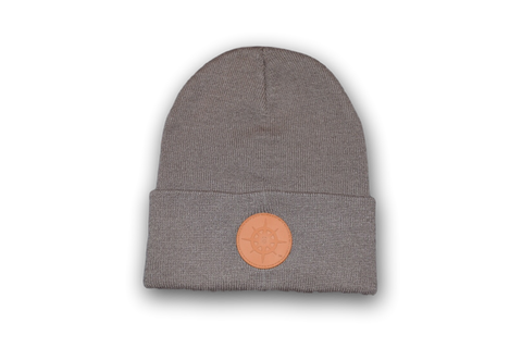 BCG Beanie Warm Taupe and Orange