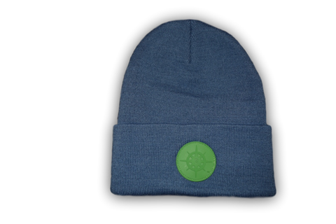 BCG Beanie Riverside Blue and Green