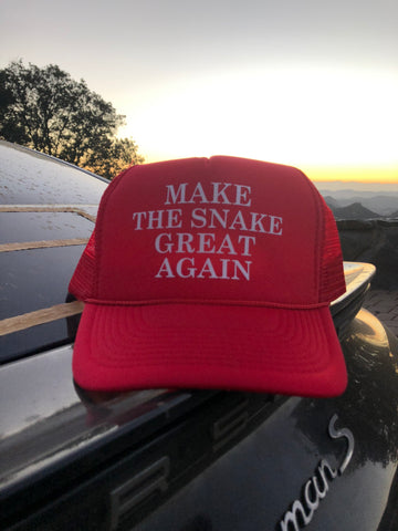 MAKE THE SNAKE GREAT AGAIN trucker