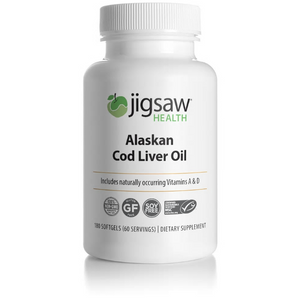 Jigsaw Cod Liver Oil 60 day - UpgradeTheAlpha Australia