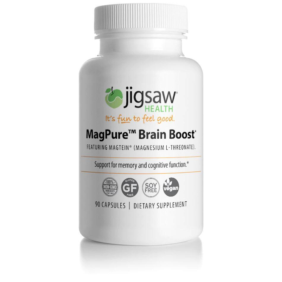 Jigsaw Health - Premium Magnesium Capsules - 90 ct - (L-Threonate) - UpgradeTheAlpha Australia