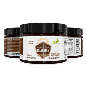 LEAKY GUT GUARDIAN® – CHOCOLATE CHOCOLATE CARNIVORE – POWDER COMPLEX – 30 SERVINGS (150 GRAMS) - UpgradeTheAlpha Australia