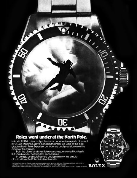 Rolex Submariner Ad
