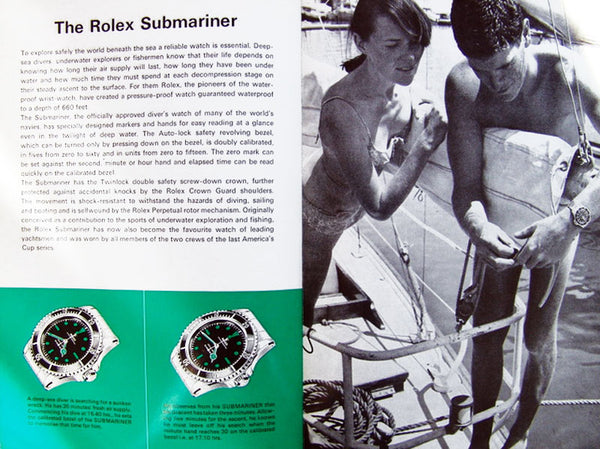 The Classic Vintage Dive Watch: A Brief Overview of the Reference 5513 Rolex Submariner