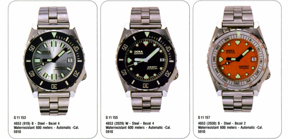 Doxa 600T Searambler Advertisement
