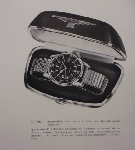 Longines Super Compressor Ref 7042-3