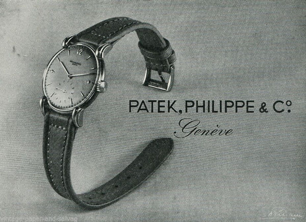Patek Philippe Advertisement