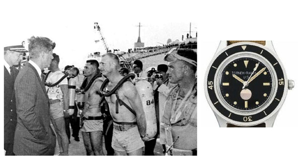A Brief History of the Blancpain Fifty Fathoms  - US military - Tornek Rayville