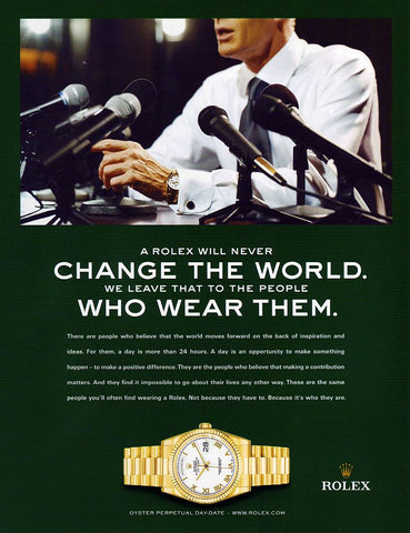 Rolex Day-Date President History - Men Who Change the World