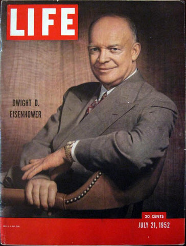 Rolex Day-Date President History Dwight Eisenhower Life Magazine cover 1952