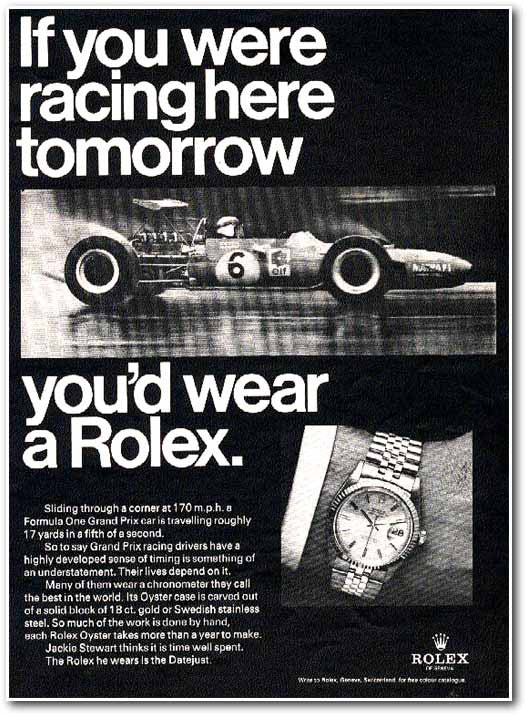 Rolex Datejust Advertisement