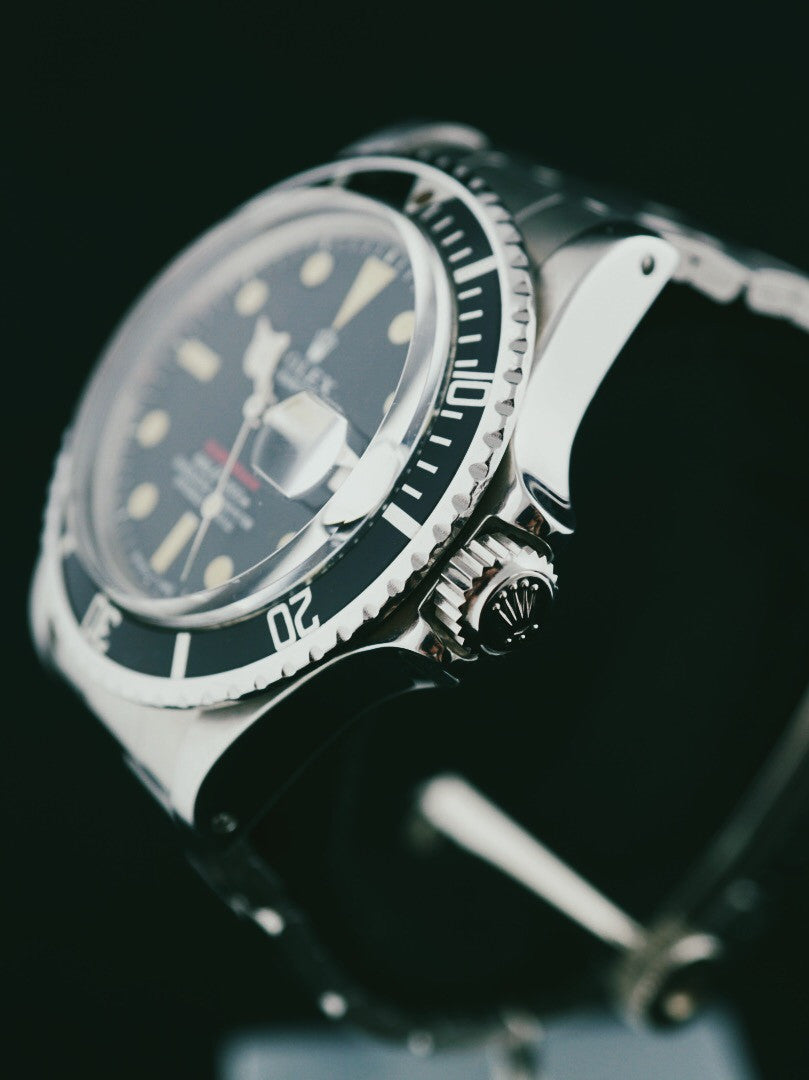 1970 ROLEX RED SUBMARINER 1680 MARK IV DIAL (U.S.N Owned)