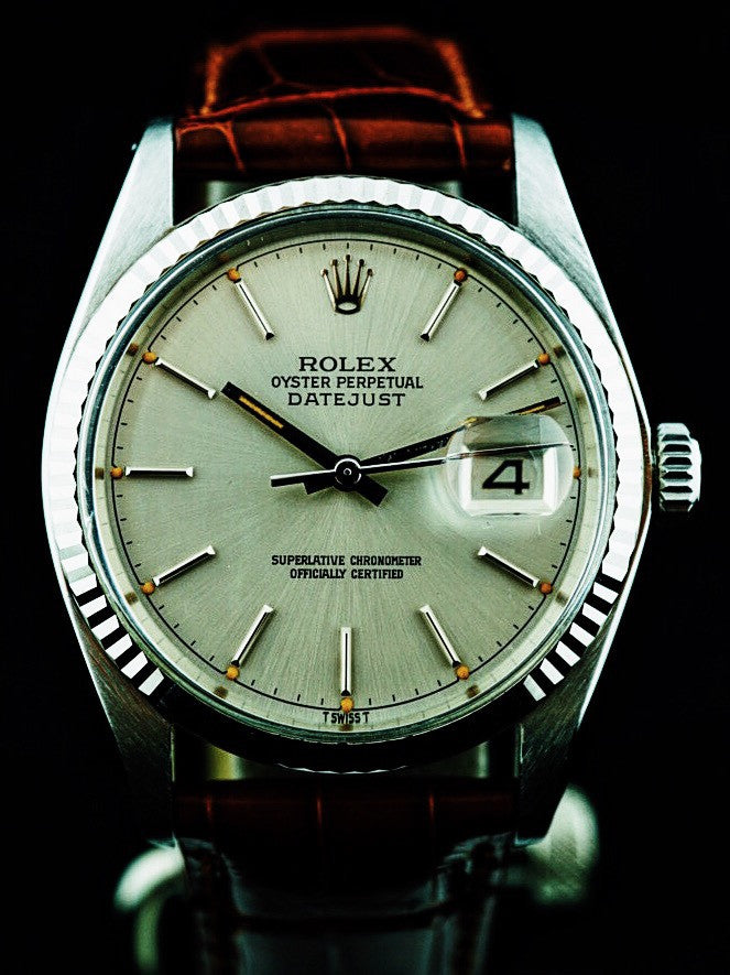 1977 Rolex Datejust (ref.16014) Silver Dial