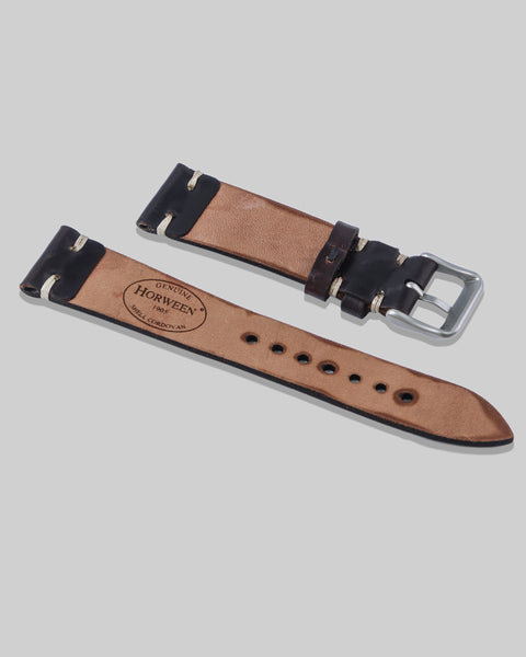 Horween Shell Cordovan Watch Strap (No. 8)
