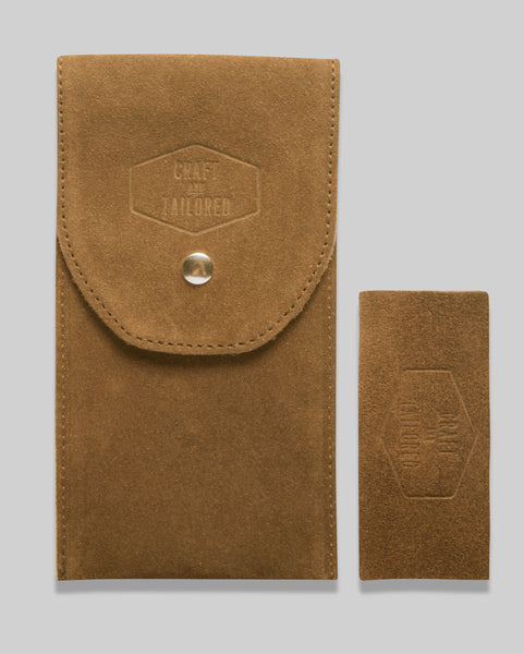Craft & Tailored Suede Watch Pouch