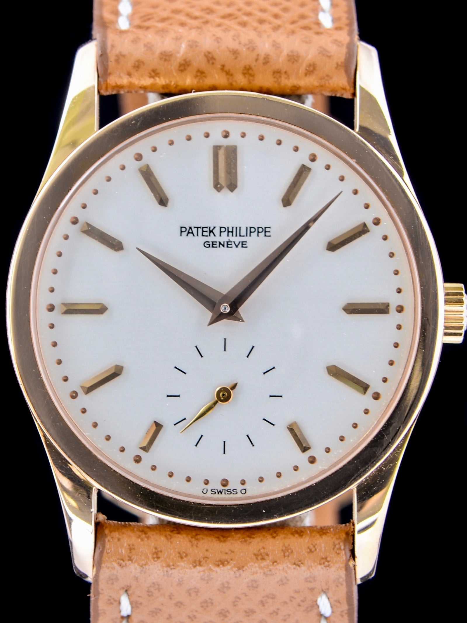 1980s Patek Philippe (Ref. 3796) 18k YG With Box