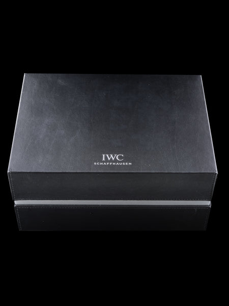 2017 IWC TimeZoner Chronograph Ref. 3950 W/ Box & Papers