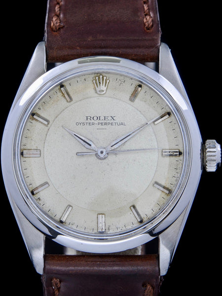 "1963 Rolex Oyster Perpetual (Ref. 5552) ""SWISS only Underline Dial"""