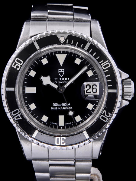 "1981 Tudor Submariner (Ref. 94110) ""Snowflake"" with Box and Service Card"