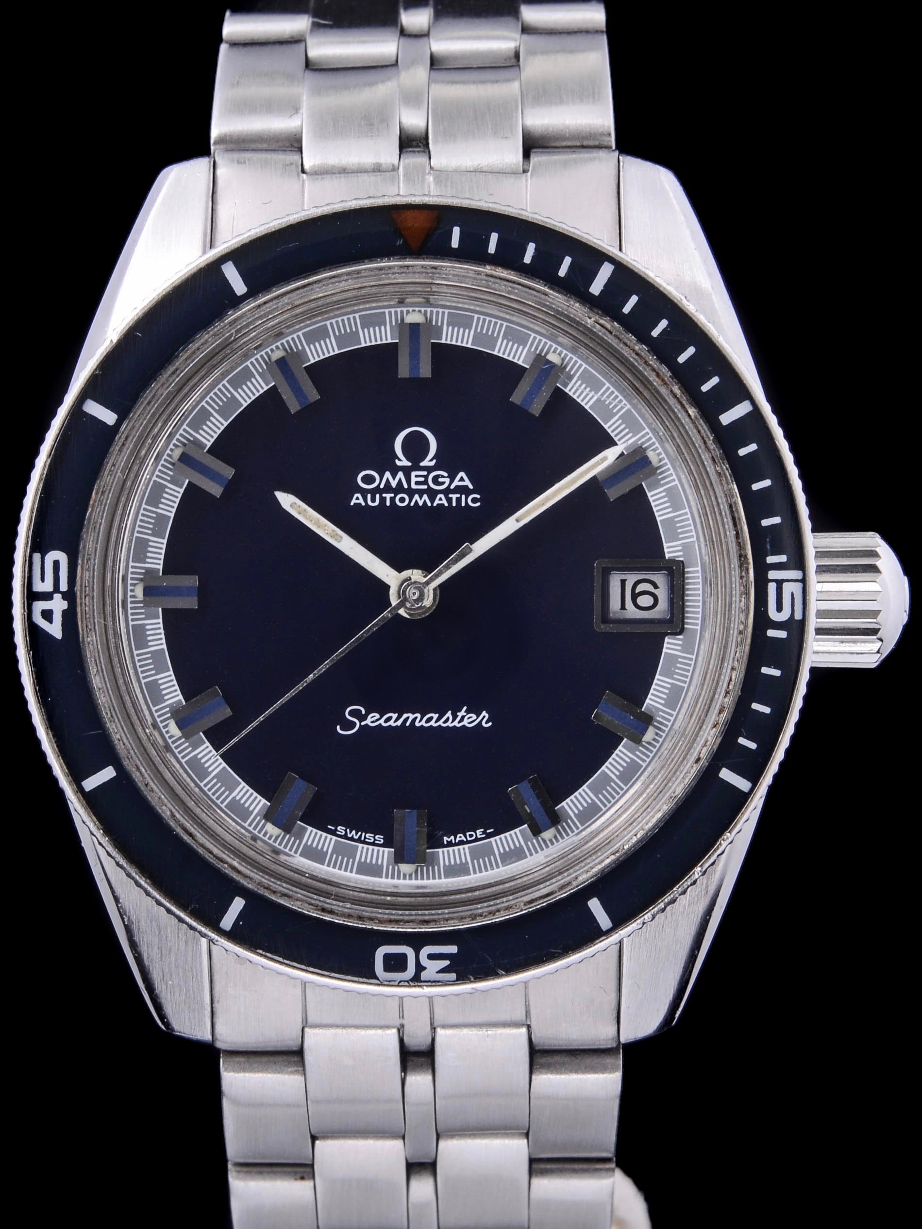 1969 Omega Seamaster 60 Big Crown (166.062)