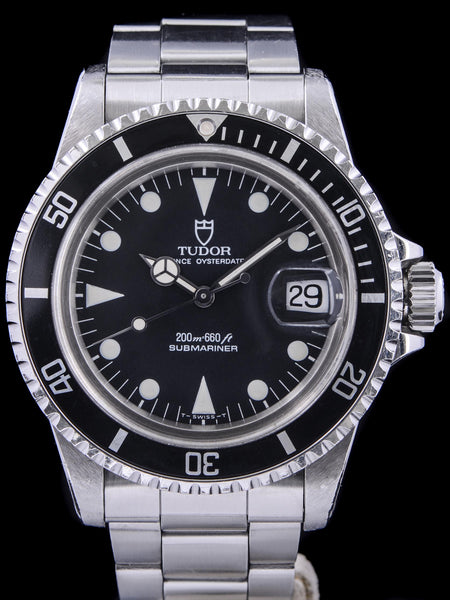 1990 Tudor Submariner (Ref. 79090) With Box and Papers