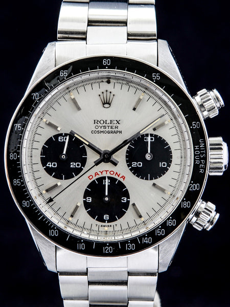 "1985 Rolex Daytona (Ref. 6263) Silver ""Big Red"" Dial"