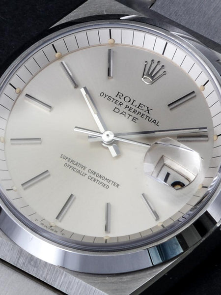 1978 Rolex Oyster Perpetual Date Ref 1530 Unpolished