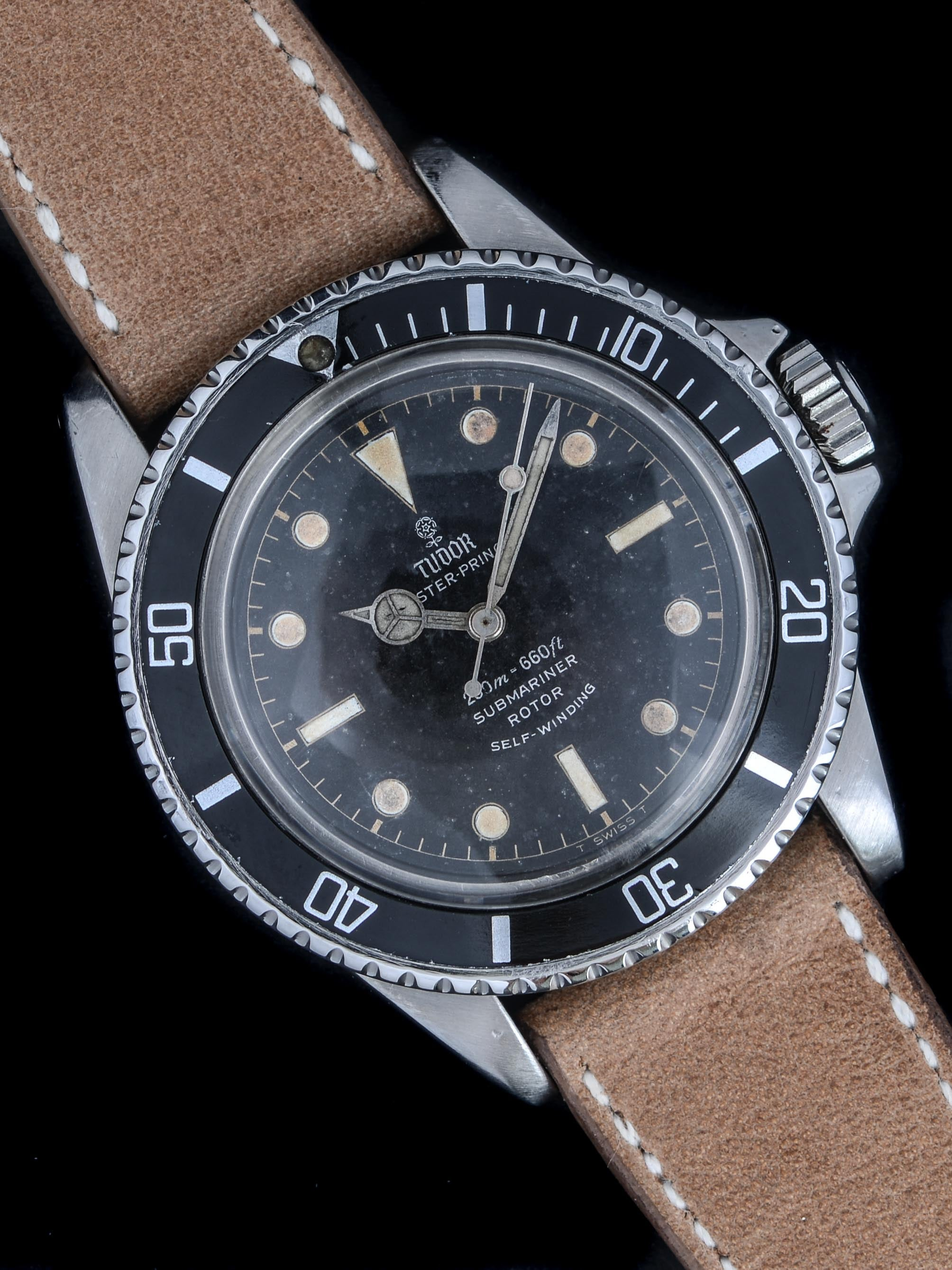 "1963 Tudor Submariner (Ref. 7928) PCG ""Gilt Chapter Ring Dial"""