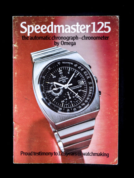 1973 OMEGA Speedmaster 125 (Ref. 378.0801) With Booklet and Papers