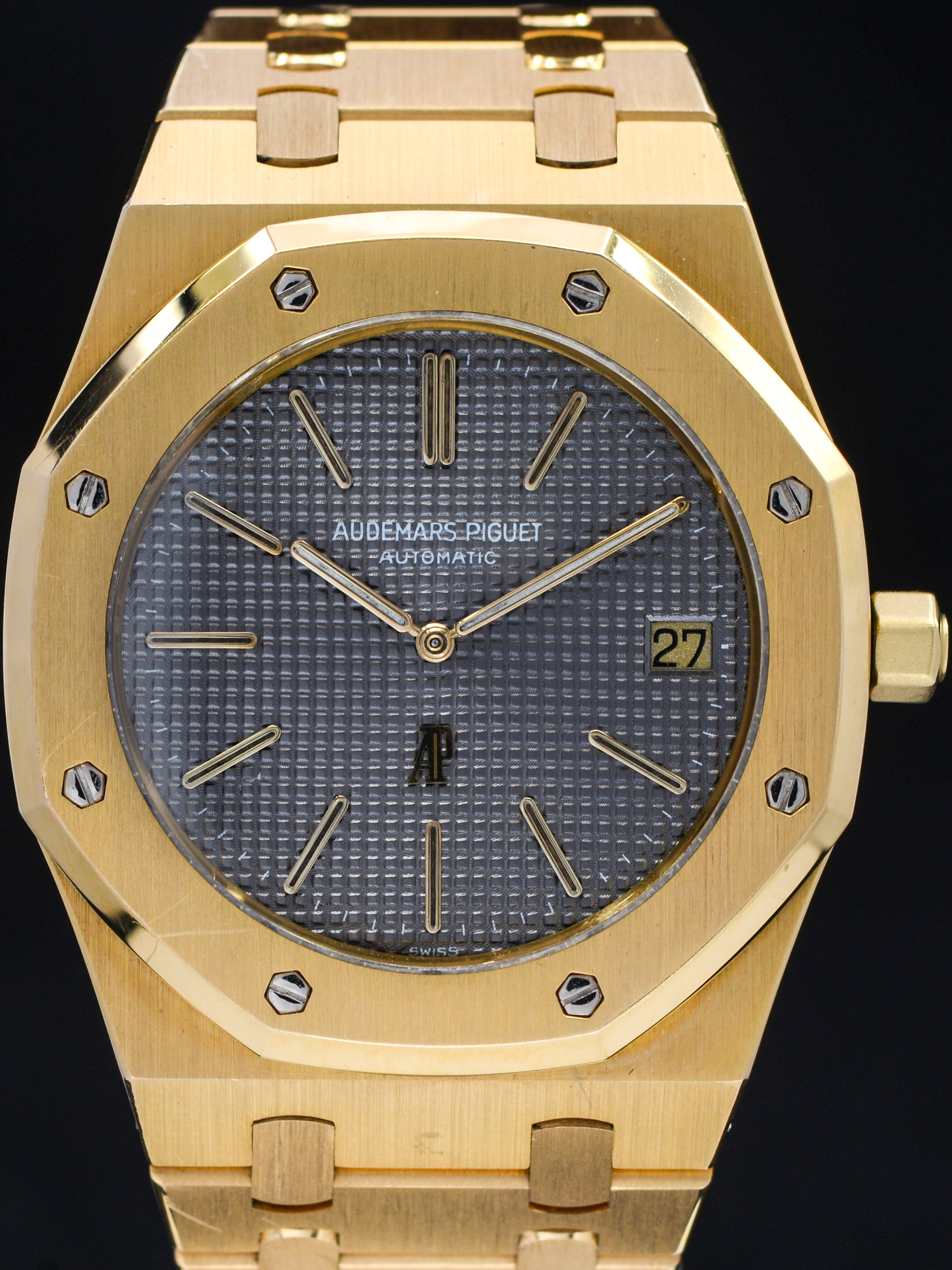 "Audemars Piguet Royal Oak 18K YG (Ref 5402) ""A Series"" Unpolished"
