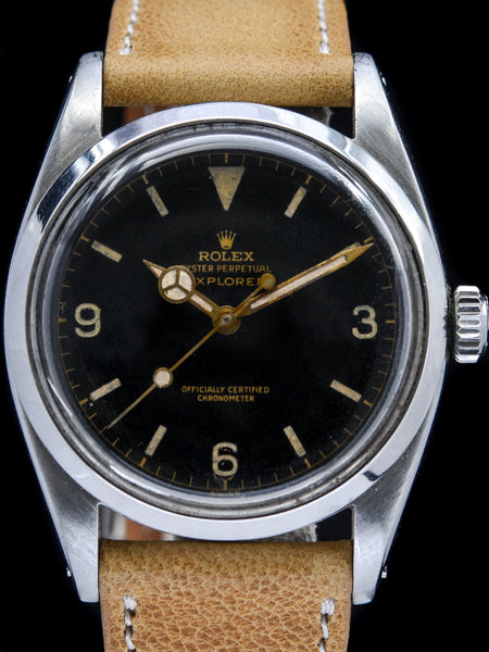 "1956 Rolex Explorer I (Ref. 6610) ""SWISS only"" Chapter Ring"