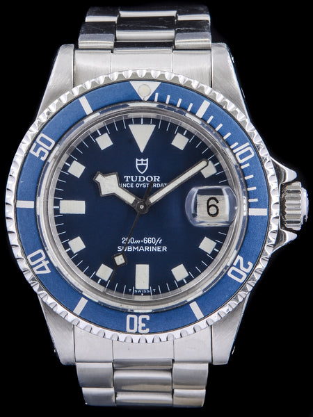 "1981 Tudor Blue Submariner (Ref. 94110) ""Snowflake"""