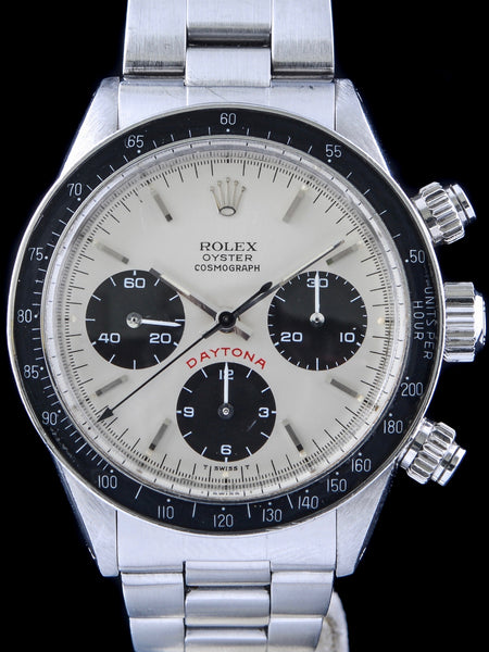 "1979 Rolex Daytona (Ref. 6263) Silver ""Big Red"" Dial"