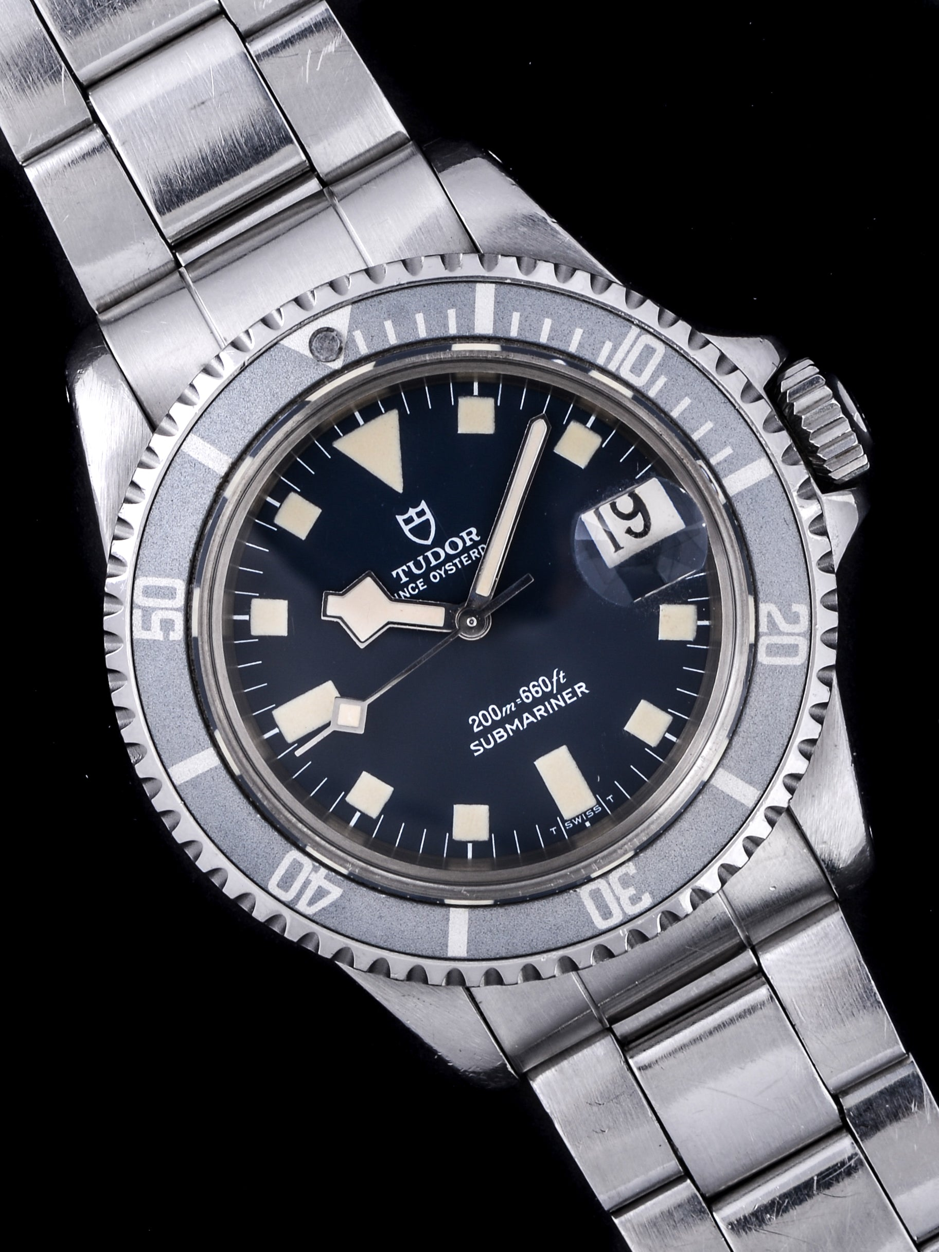 "1978 Tudor Blue Submariner (Ref. 94110) ""Snowflake"" with Box and Papers"