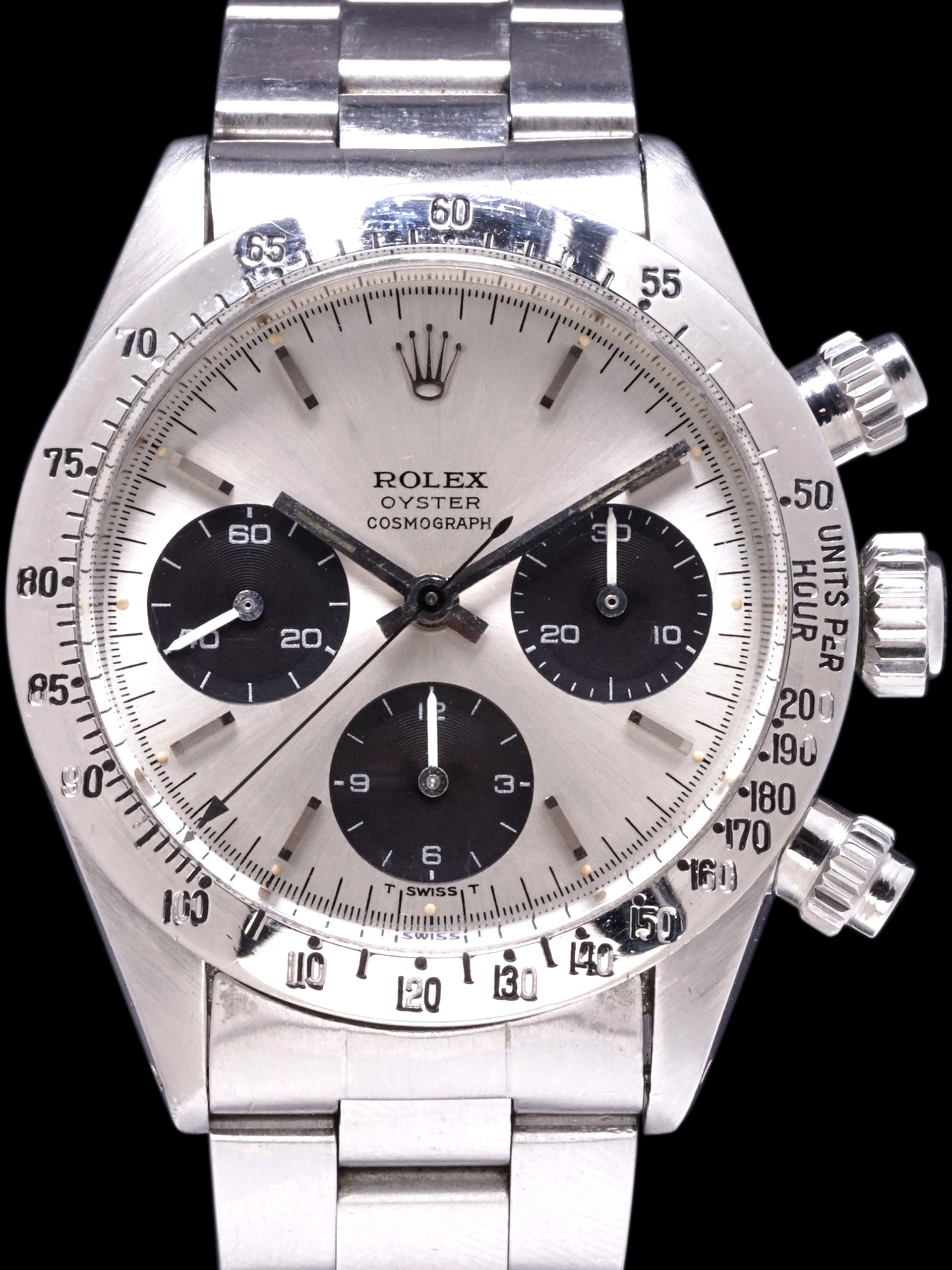 "1974 Rolex Daytona ROC (Ref. 6265) Silver ""Big Eyes"""