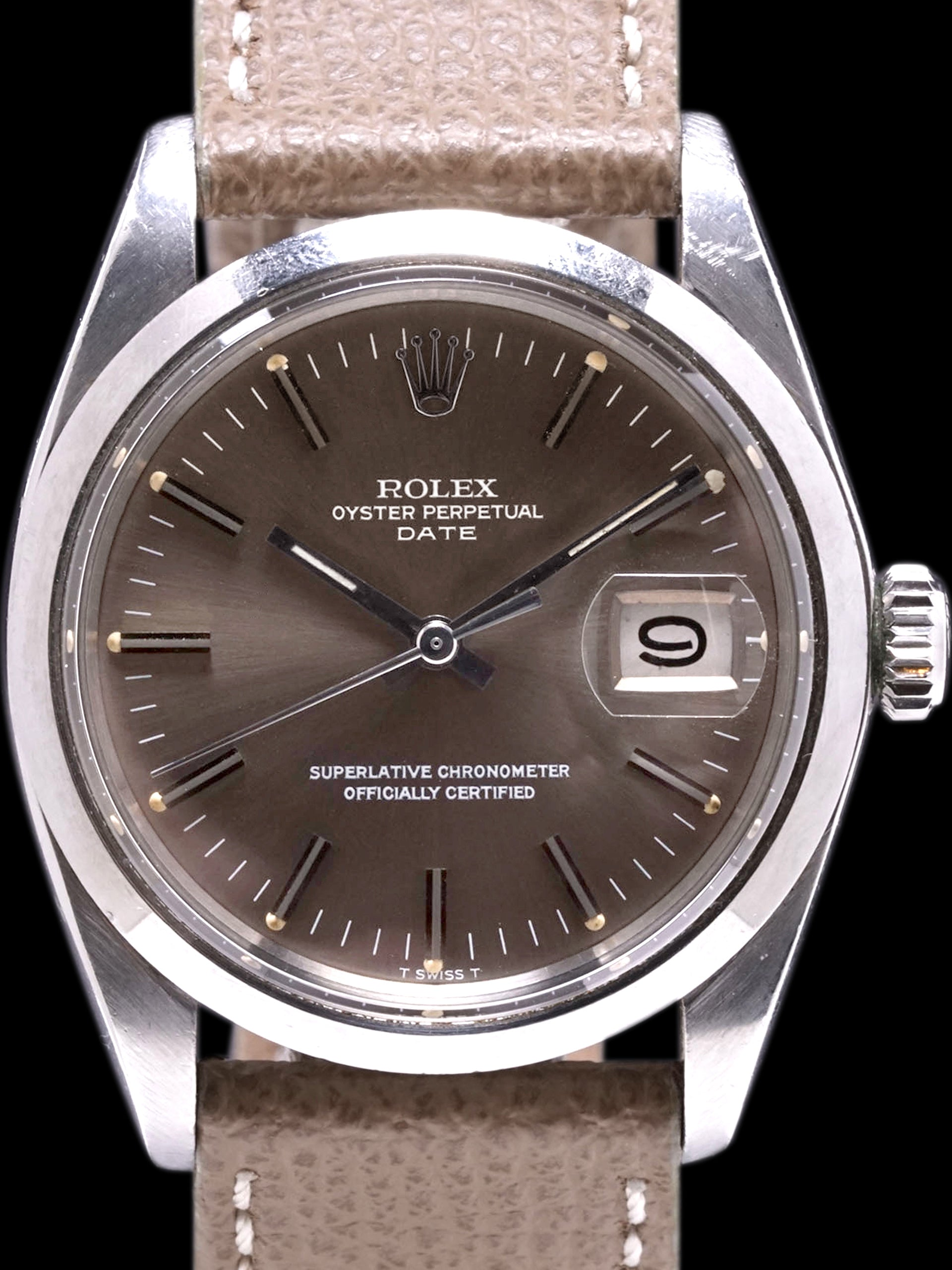 *Unpolished* Tropical 1971 Rolex Oyster-Perpetual Date (Ref. 1500)