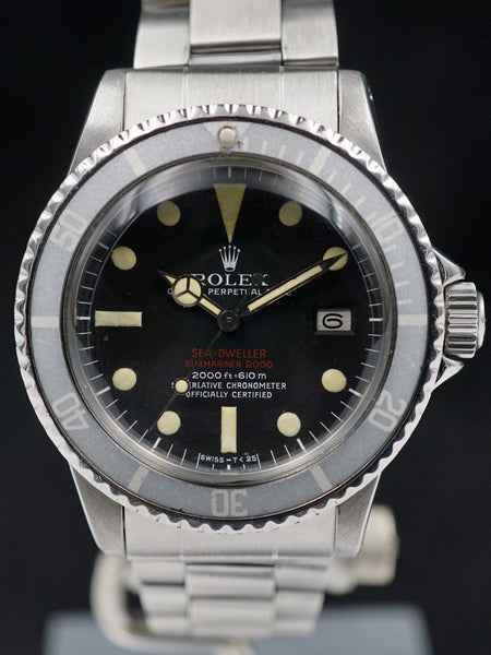 "1972 Rolex Double Red Sea-Dweller (Ref. 1665) ""Mk 3"""