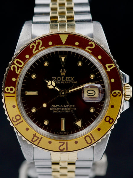 "1979 Rolex Two-Tone GMT-Master (Ref. 16753) ""Root Beer"""