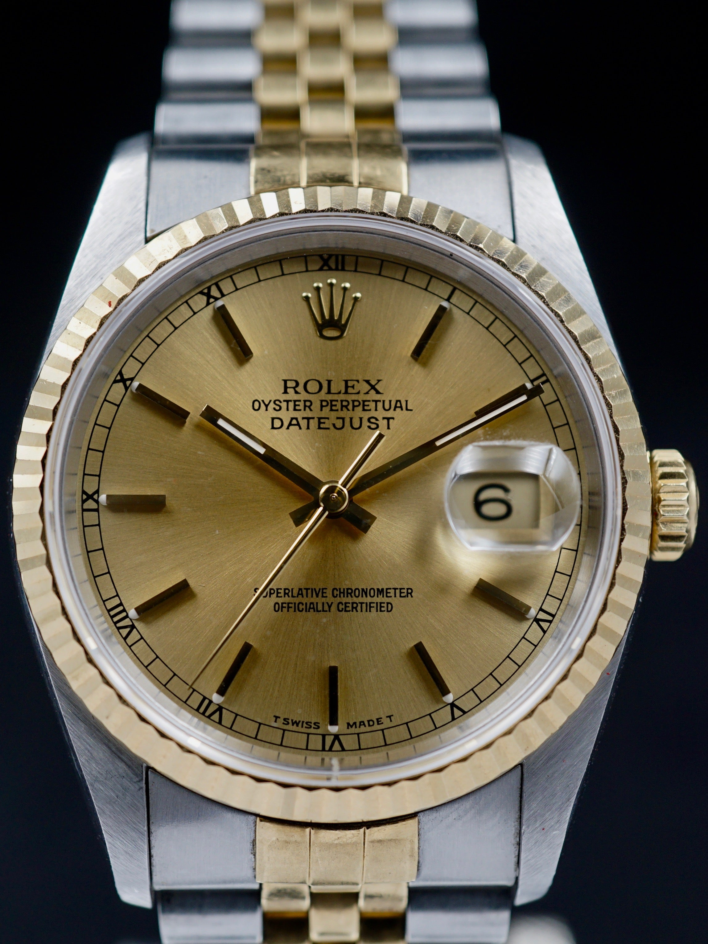 1991 Rolex Two-Tone Datejust (Ref. 16233) With Papers