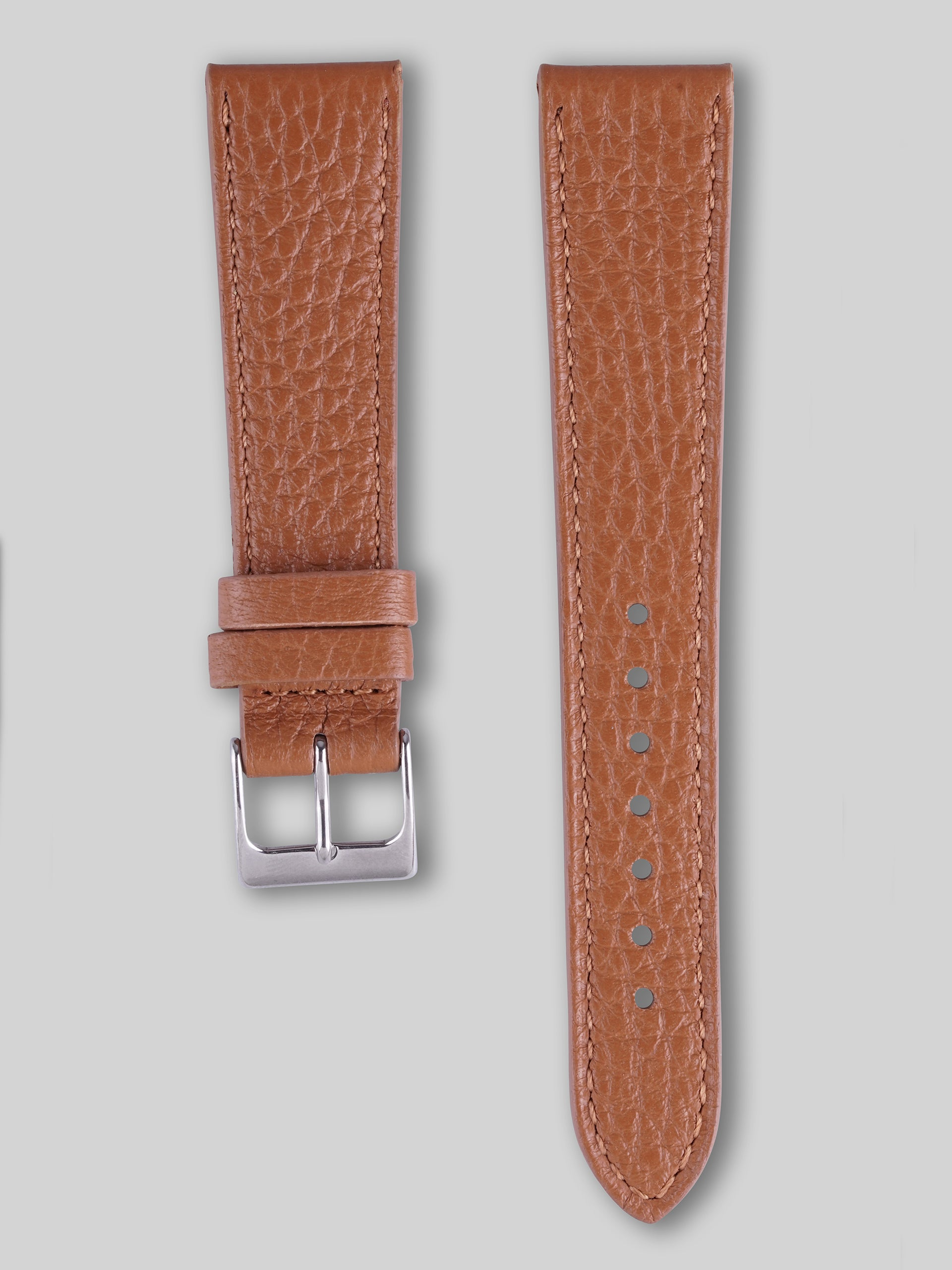 Textured Calfskin Watch Strap - Quantum