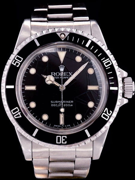 "1984 Rolex Submariner (Ref. 5513) ""Spider Dial"""