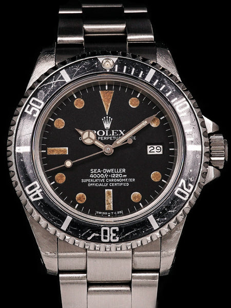 1983 Rolex Sea-Dweller (Ref. 16660) Matte Dial with Box, Papers and Service History