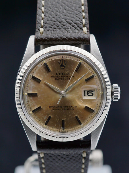 "1963 Rolex Datejust (Ref. 1601) ""Tropical"""