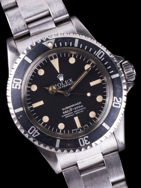 "1979 Rolex Submariner (Ref. 5512) MAXI Mk.3 ""Lollipop"""