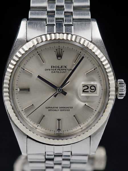 "1972 Rolex Datejust (Ref. 1601) ""Non-Luminous Dial"""