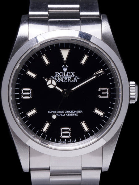 1991 Rolex Explorer I (Ref. 14270) Unpolished