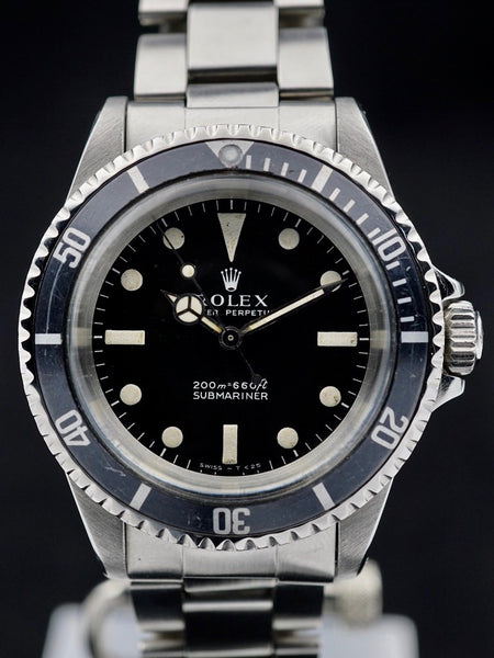 1967 Rolex Submariner (Ref. 5513) Meters First