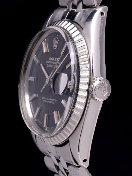 1967 Rolex Datejust (Ref. 1603) GILT Black Dial