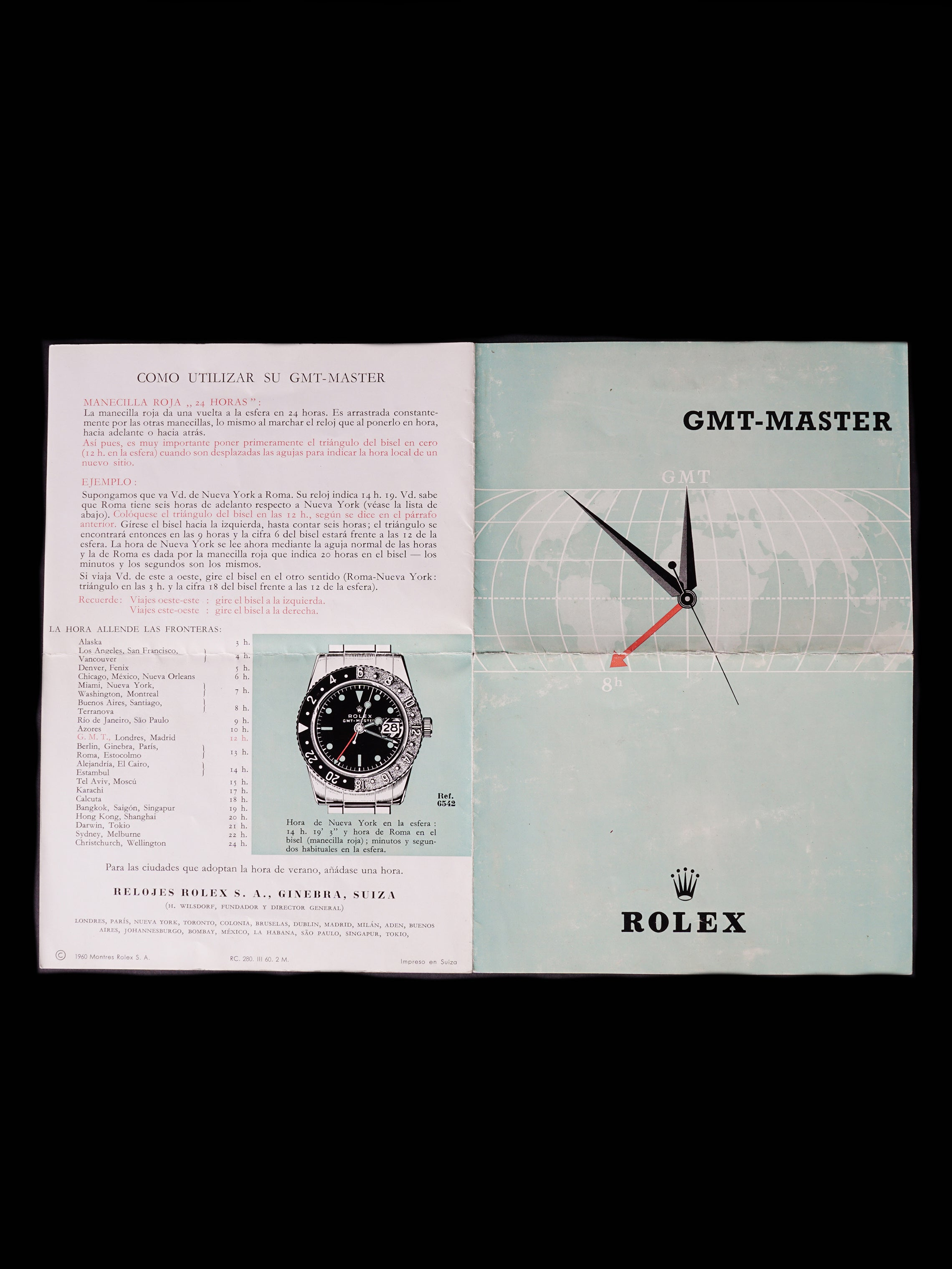 1961 Rolex GMT-Master (Ref. 1675) PCG, Gilt Chapter Ring, Exclamation W/ Papers